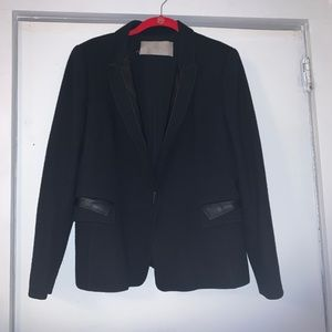 rech paris black jacket/blazer